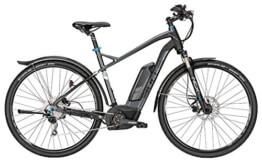 Bulls Cross Rider-E 500Wh Trekking schwarz-matt/grau 2016 - 1