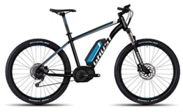 GHOST Bikes Teru 4 black/blue/white E-Bike – 27.5 400Wh 9-Gang Deore Größe S Modell 2016 - 1