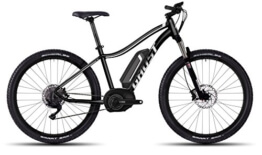 GHOST Bikes Teru 5 Miss black/grey/white E-Bike – 27.5 500Wh 10-Gang Deore Größe S Modell 2016 - 1
