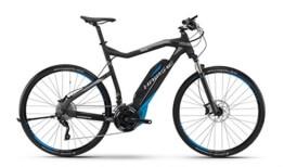 HAIBIKE Sduro Cross RC Herren schwarz/cyan/grau matt Rahmengröße 52 cm 2016 E-Bike - 1