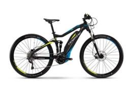 HAIBIKE Sduro FullNine RC 29″ schwarz/cyan/lime matt Rahmengröße 40 cm 2016 E-Bike - 1