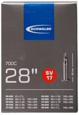 Schwalbe Fahrradschlauch SV17 28/47-622/635 EK 40 mm, 10429343V - 1