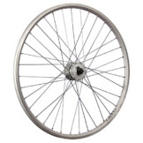 Taylor Wheels 28 Zoll Vorderrad ZAC2000 Shimano DH-3N31 Vollachse – silber - 1